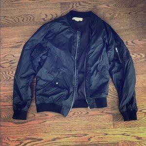 L.O.G.G. Bomber Jacket (Black)